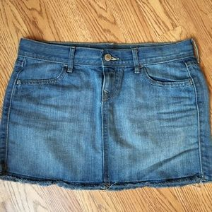 Woman's Old Navy Denim Skirt, Sz 2
